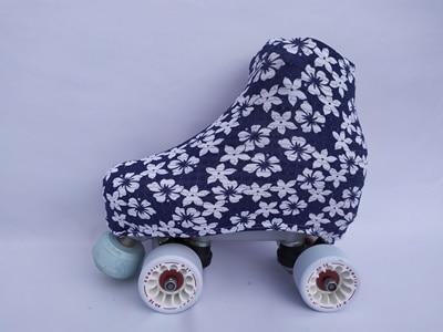fundas estampadas outlet azul marino flores blancas