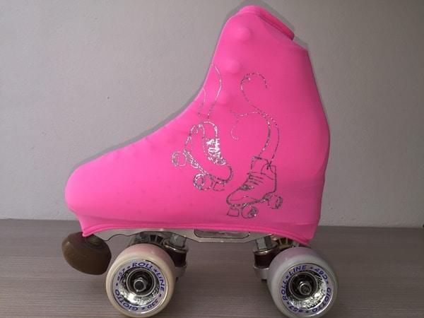 outlet-patin-Fundas rosas patines plata